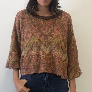 Free People Boxy Summer Sweater